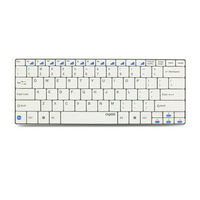 Rapoo Android/Windows/iPad Bluetooth (E6) Keyboard,  white