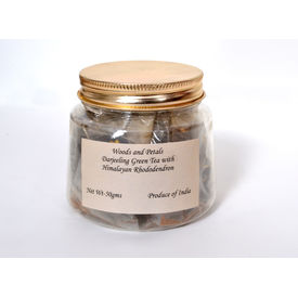 Woods and Petals Darjeeling Green tea with Himalayan Rhododendron 50gms