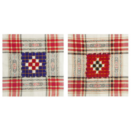 OSS987: Handwoven Sambalpuri Cushion Covers for Decorating Home