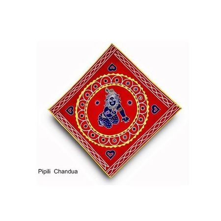 OHC001: Chandua Wall Hanging from Pipili, Odisha Online Shopping