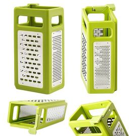 Fold Flat Grater Plus - 4-in-1 Box Grater