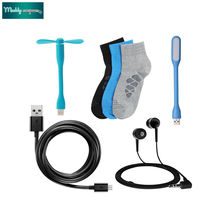 data cable earphone one set sock LED light & USB fan just Rs 5 only
