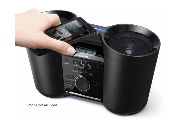 Sony ZSBTY52 Boombox with Bluetooth