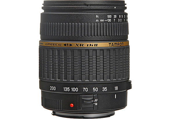 Tamron Zoom Super Wide Angle 18-200mm f/3.5-6.3 XR Di-II LD Aspherical (IF) Macro Lens for Canon Digital EOS