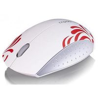 Rapoo 3300P wireless Super Mini Mouse, White&Red