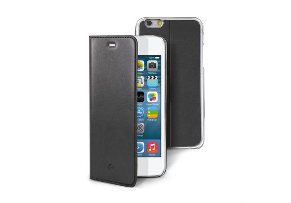 Celly BUDDYIP6S Portfolio Case for Apple iPhone 6s, Black