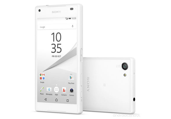 Sony Xperia Z5 Compact Smartphone, White
