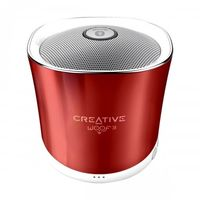 Creative MF8230 Woof 3 Portable Bluetooth Speaker, Rogue Red