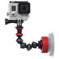 Joby Suction Cup & Gorilla Pod Arm, Black/Red