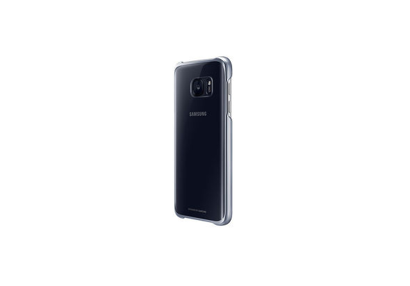 Samsung Galaxy S7 Clear Back Cover Black