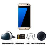 Exclusive Offer for Samsung Galaxy S7 Edge Smartphone, 32 GB, Gold Platinum
