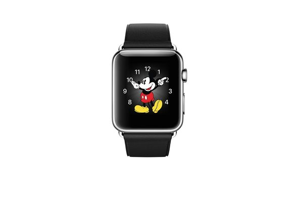 Apple Watch 42mm Stainless Steel Case with Black Classic Buckle