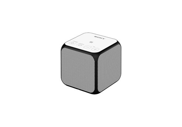 Sony SRSX11WHITE Portable Wireless Speaker with Bluetooth.