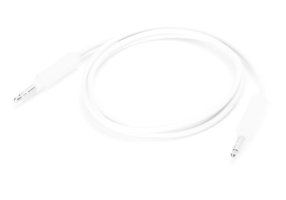 Griffin Technology - 3 inch 3.5mm Stereo Auxiliary Cable - White