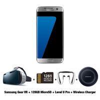 Exclusive Offer for Samsung Galaxy S7 Edge Smartphone, 32 GB, Silver Titanium