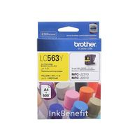 Brother LC563Y Compatible Ink Cartridge - Yellow