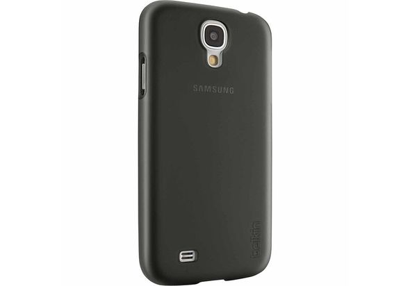Belkin Shield Sheer Matte Case for Galaxy S4, Black