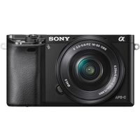 Sony ILCE6000LB Digital E-mount 24.3 Mega Pixel Camera