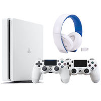 Sony PS4 Slim 500GB White Bundle