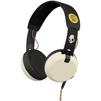 Skullcandy over-ear Headphones, Cream/Black