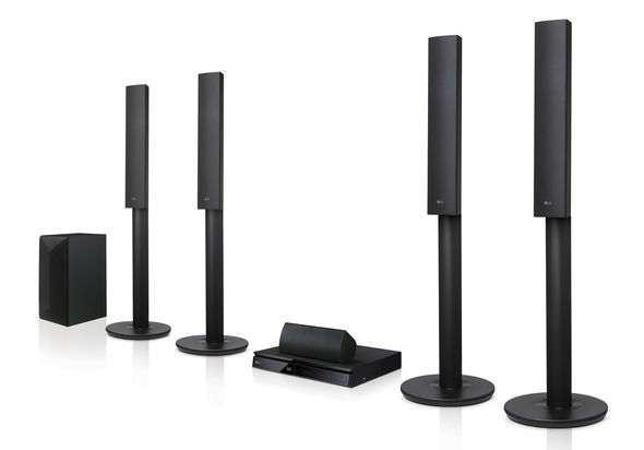 LG LHB655 3D Blu-ray / DVD Home Theater System