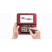 New Nintendo 3DS XL– Red+ Assorted Game