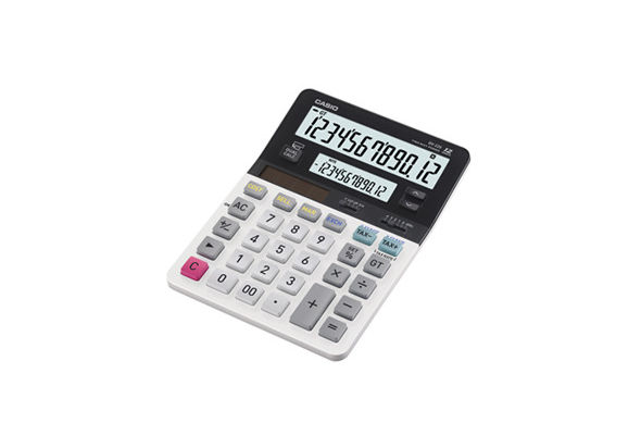 Casio JV-220-R Dual Display Calculator