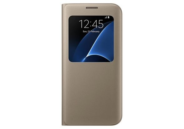 Samsung Galaxy S7 Edge S View Cover Gold