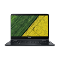 "Acer SP714-51 i7 8GB, 256GB 14"" Laptop, Black"