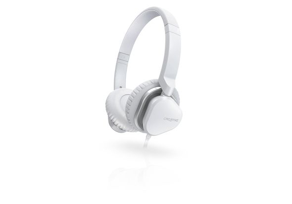 Creative HITZ MA2400 Headset for Music and Calls - White