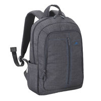 "Riva Case 7560 Laptop Canvas Backpack 15.6"" , Grey"
