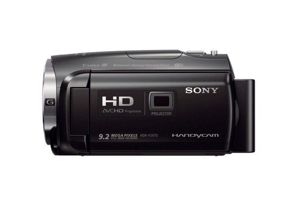 Sony HDRPJ670 Full HD 60p Camcorder w/ built-in Projector