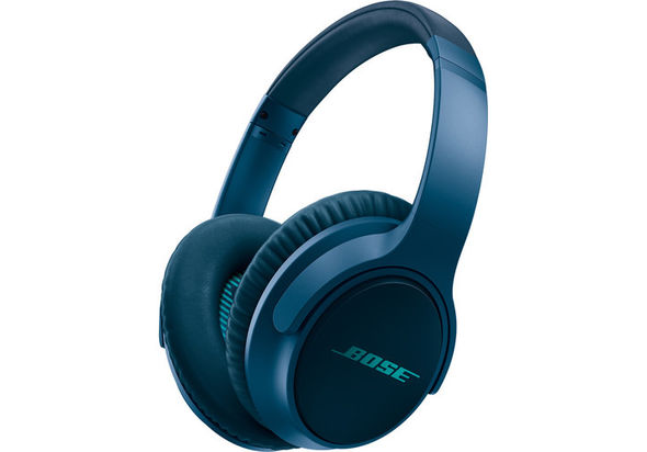 Bose SoundTrue Around-Ear Headphones II for Apple Devices, Navy Blue