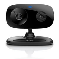 Motorola Focus 66 Wi-Fi HD Audio and Video Home Monitoring Camera, Black