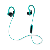 JBL Reflect Contour Wireless behind-the-ear sport headphones, Teal