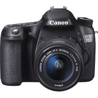 Canon EOS 70D 18-55 IS Lens