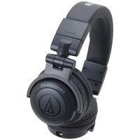 Audio Technica ATH-PRO500MK2BK Rugged Design DJ Headphone Black