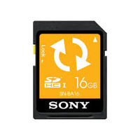 Sony SNBA16 16GB Backup SD Memory Card