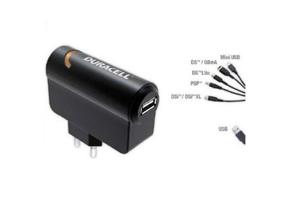 Duracell Universal Multi 6in1 AC Adapter and Duracell 6in1 Multi Car Charger