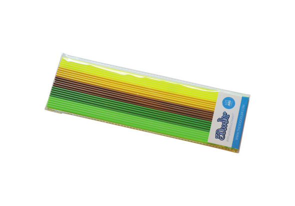 3Doodler ABS  Welcome to the Jungle  Mixed Filament Pack, 25 Strands