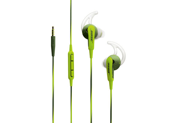 Bose SoundSport In-Ear Headphones-Apple Devices, Energy Green