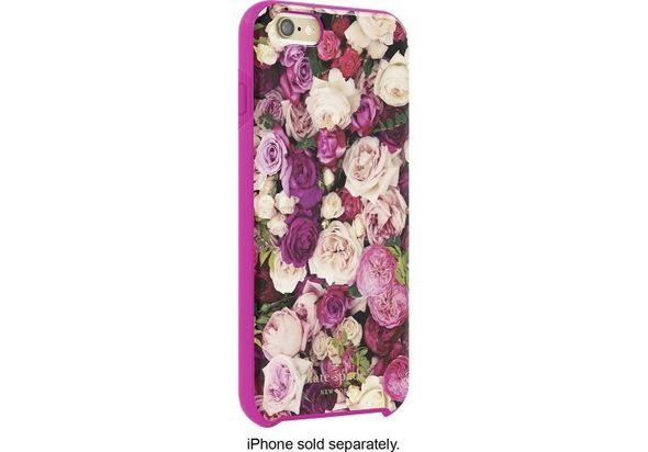 Kate Spade New York Hybrid Hard Shell Case for Apple iPhone 6 Plus and 6s Plus, Photographic Roses