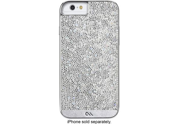 Case-Mate Case for Apple iPhone 6 and 6s - Clear/Diamond/Silver