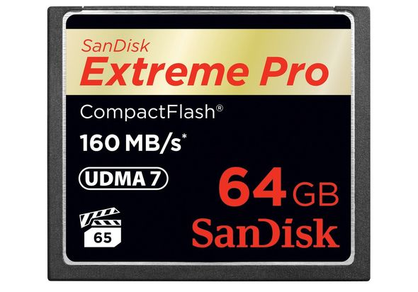 SanDisk SDCFXPS-064G-X46 64GB Flash Card