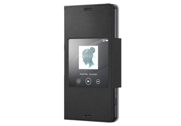Sony SN-SCR26 Compact Style Up Cover for Sony Xperia Z3 Black