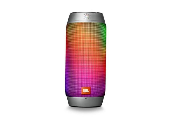 JBL Pulse 2 Bluetooth Speaker, Silver