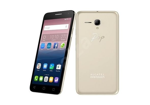 Alcatel Onetouch Pop Star Smartphone 4G LTE, Gold