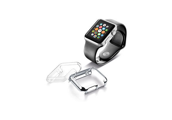 Cellularline invisible skin for Apple watch
