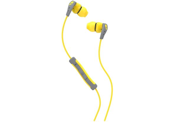 Skullcandy Method Buds, Yellow/Gray