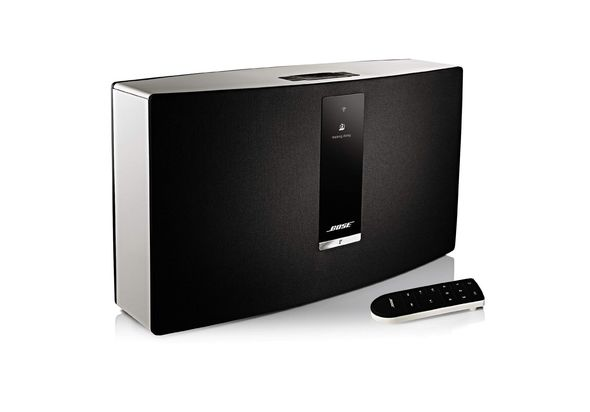 Bose SoundTouch Portable Series II Wireless Music System, White,  black